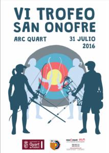 VI Trofeo San Onofre 2016